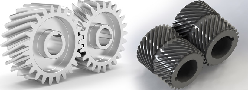 Helical Gears and Splines